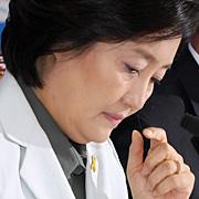 박영선의 거취  의원들 전수조사로