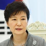 """""""박근혜의 UN 연설,  한국인과 세계 속이는 것"""""""