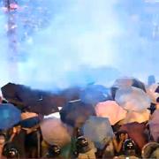 '우산' 펼친 홍콩 시위대  고민 깊어지는 중국