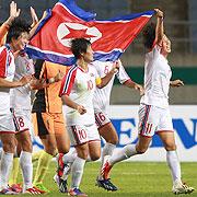 """""""우리는 하나"""" 북한 여자축구, 금메달 비결은?"""