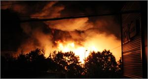 한국타이어 대전공장에 큰 불... 검은 연기 '가득'