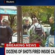 캐나다 국회에서  무장괴한 총격