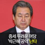 증세 두려운 여당... '박근혜 대선 공약' 난타