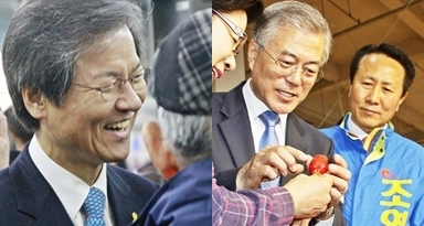 문재인 vs. 천정배 구도... '광주 서을' 승자는?