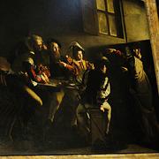 예수를 그림 구석에  '문제적' 화가 카라바조