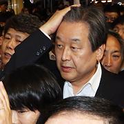 """김무성에 항의하다 뺨 맞은 시민 """"모멸감 느껴"""""""