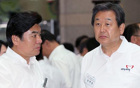 '불법선거 장관'  추방하자던 '주어 생략당'
