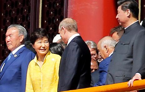 박 대통령의 '위치' '한중 밀월관계' 증명
