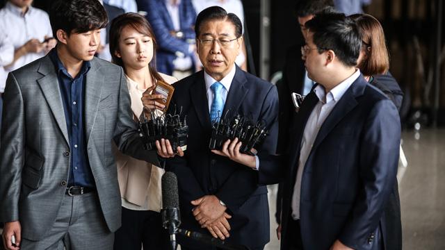정준양 전 포스코그룹 회장 검찰 소환