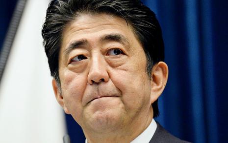 일본 국민의 선택 전쟁하는 아베 불렀다