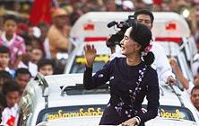 버마 군정 청산 수치의 '햇볕'에 달렸다