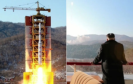 """국정원 """"북한, ICBM 기술 축적"""""""