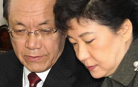 박근혜와 황우여의 3년 전 그 입