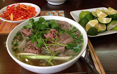 베트남서 먹는 쌀국수  그거 진짜 맛있나요?