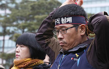 박근혜 대통령이 회피할 때 이 남자는 책임을 다했다