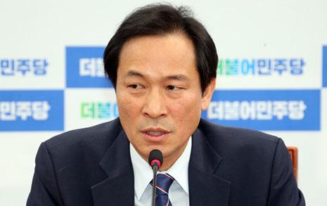 """우상호 """"김진태 물타기,  같은 의원으로 치욕적"""""""