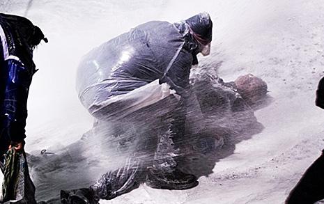 의문 남긴 사망진단서 직사 물대포 맞았는데 '병사'