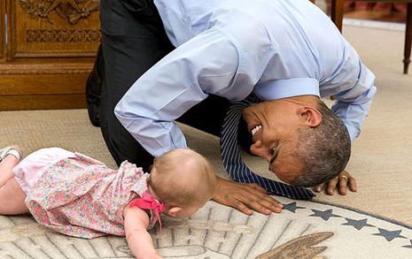 행복한 말년 보내는   오바마의 비결