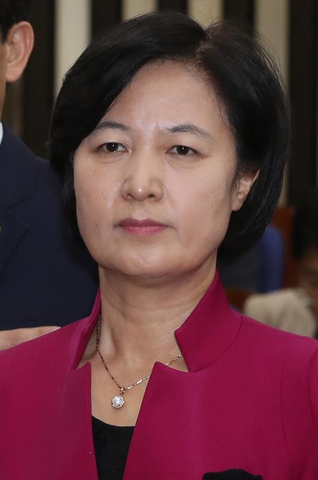 """추미애 """"박정희  3선 개헌 떠올라"""""""