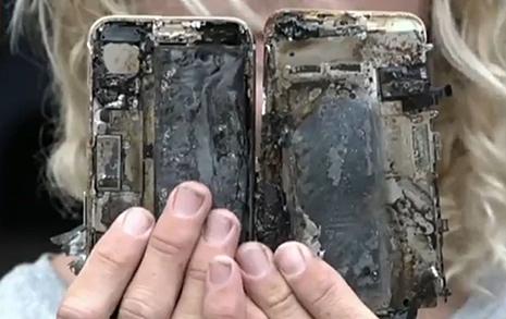 아이폰7 발화  갤노트7 사태와 동급?