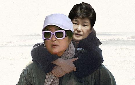 '최순실-박근혜 게이트'  패러디도 웃프다