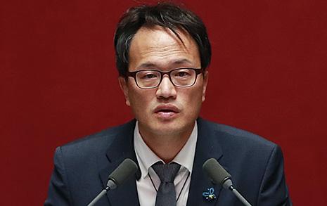 '거지갑' 박주민 수첩은  박근혜 것과는 달랐다