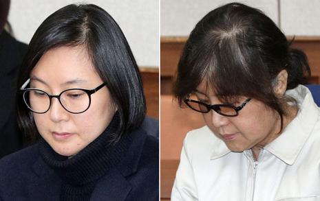 """최순실 """"오너는 장시호""""  검사 """"대빵은 최순실"""""""