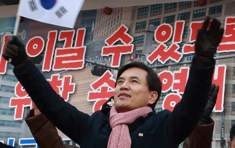 김진태 의원님, 광화문서  춘천시민 좀 만나시죠