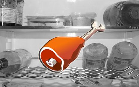 고기 포장째 냉장고  보관? 안됩니다