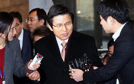 '주말 시위' 이유로  특검 연장 거부한 황교안
