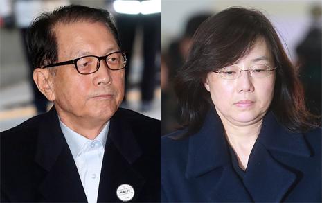 """반성없는 김기춘 """"특검이 구속돼야""""  읍소하는 조윤선 """"자괴감 느낀다"""""""