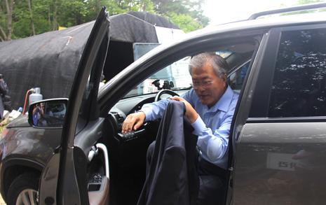 문 후보, 의원 시절 법인 명의 차량 사적 이용 의혹