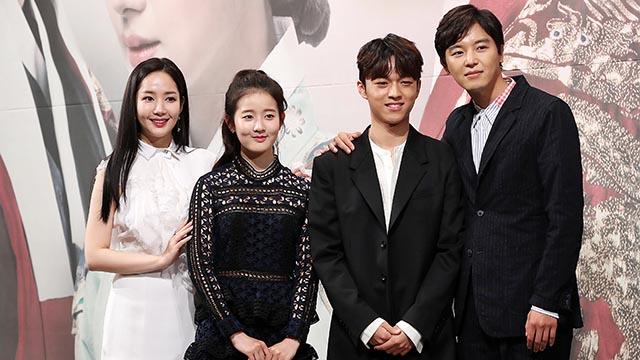 박민영-박시은-백승환-연우진, '7일의 왕비' 이끌 주역들