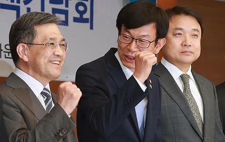 """'4대 재벌' 만난 김상조  """"인내심 갖지만 시간 없어"""""""