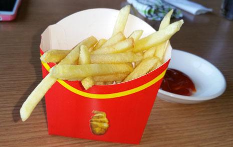 평양판 '맥도날드'  메뉴판을 공개합니다