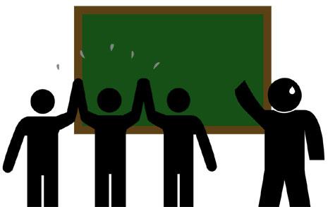 수업중 성폭력이 교사 몰래 한 '장난'?