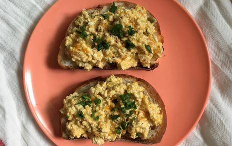 달걀없는 '페이크 달걀 요리' 레시피 공유합니다