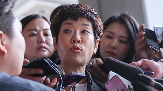 """김미화 """"이명박 전 대통령 고소할 것"""""""