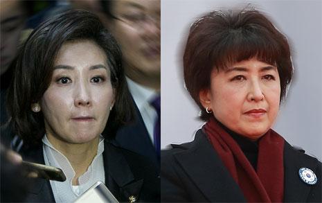나경원, 정미홍은 왜 페이스북에서 비난 자처했나