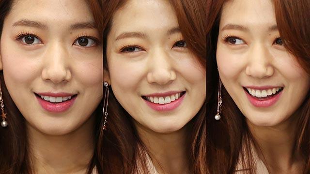 박신혜, 추위를 녹이는 미소