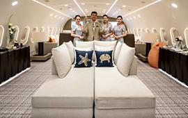전 세계 1대, 개인용 보잉 787 공개