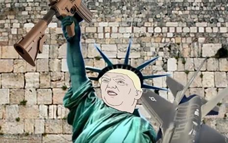 [움짤 만평] 트럼프 말 한마디에...
