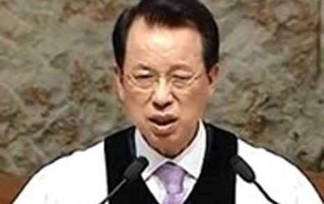 """""""부자세습 김삼환,  신의 이름 사칭했다"""""""