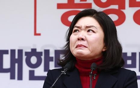 """'물갈이' 류여해 오열  """"홍준표 추잡한 뒷거래"""""""