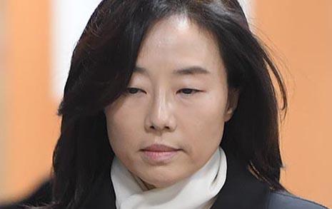 조윤선 징역2년 법정구속 '박근혜 블랙리스트 공범'