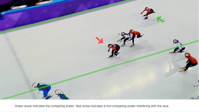 [국제빙상경기연맹] 캐나다 실격 사유 공개