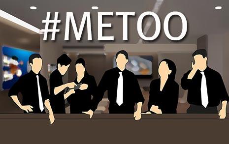 '미투'의 사각지대,  말 못하는 여성 직장인들