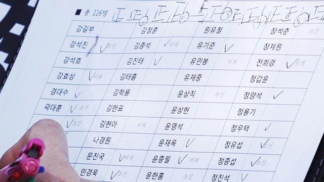 초선-비례는 필참? 출석체크하는 한국당