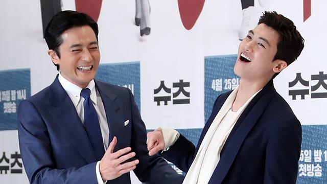 '슈츠' 장동건-박형식, 장난기 가득한 투톱!