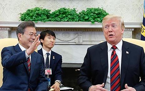 '북핵 일괄타결'에서  트럼프 대통령, 한발 물러섰다?